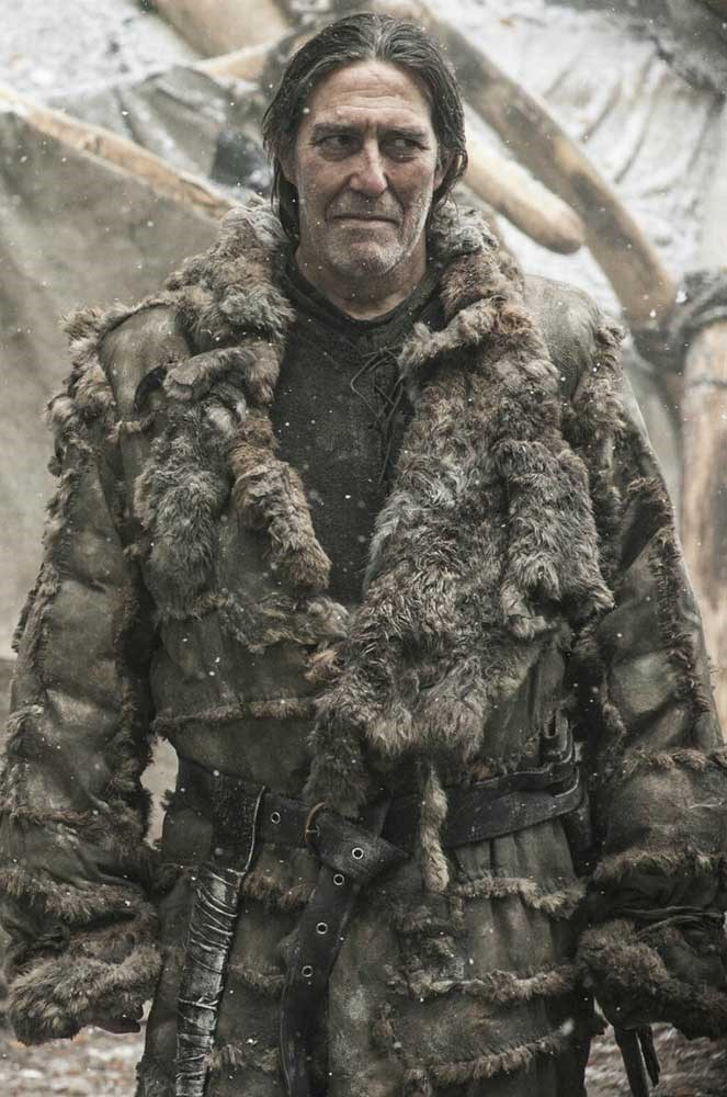 </p><p><b>Mance Rayder</b></p><p> The ill-fated Wildling king Mance Rayder was played by <em>Harry Potter </em>actor Ciarán Hinds.