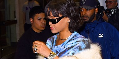 Rihanna Designed 24-Karat Gold Sunglasses For Dior