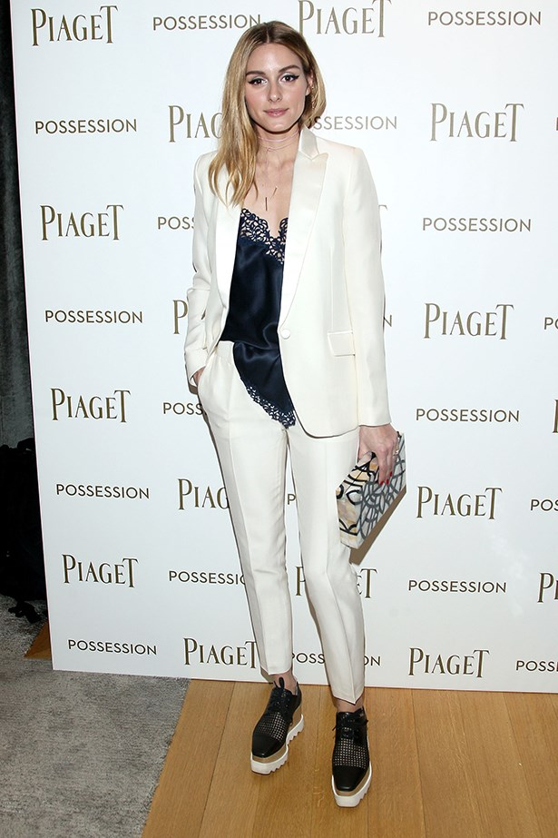 Olivia Palermo is one of the rare few in this world who can walk a red carpet in platformed brogues and get away with it.