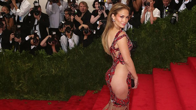Jennifer Lopez naked dress.