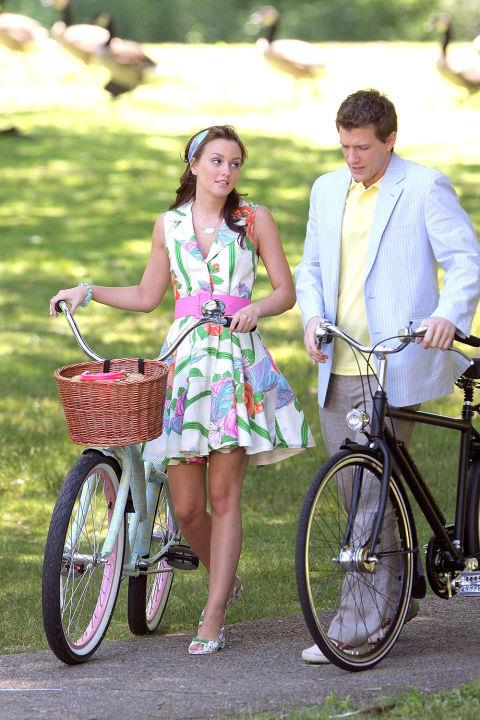 The 'Must Tell The Lord I'm Into Chuck' Hamptons summer dress.