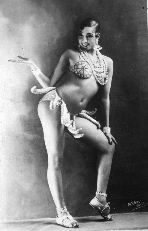 <p><strong>JOSEPHINE BAKER IN THE 1920s</strong><p><p> The dancer and civil rights activist Josephine Baker found fame in Paris in the 1920s. Her most iconic routine was the danse sauvage, in which she wore a skirt made out of artificial bananas and twerked before twerking was even a term. Audiences didn't know what to do with their feelings of attraction, fascination, and disgust. Baker's contemporary, the anthropologist Essie Robeson, called it &quot;this ridiculously vulgar ... wiggling.&quot; Ernest Hemingway remembered her as being &quot;the most sensational woman anybody ever saw. Or ever will.