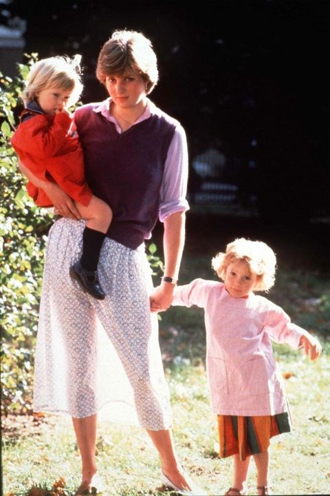 <p><strong>LADY DIANA SPENCER, 1980</strong><p><p> The future Princess Diana was not yet engaged to Prince Charles when she posed for photos at Young England Kindergarten, where she was a nursery school assistant. She wasn't wearing a slip, and when the sun came out, her backlit skirt showed off her legs in a way that caused a scandal.