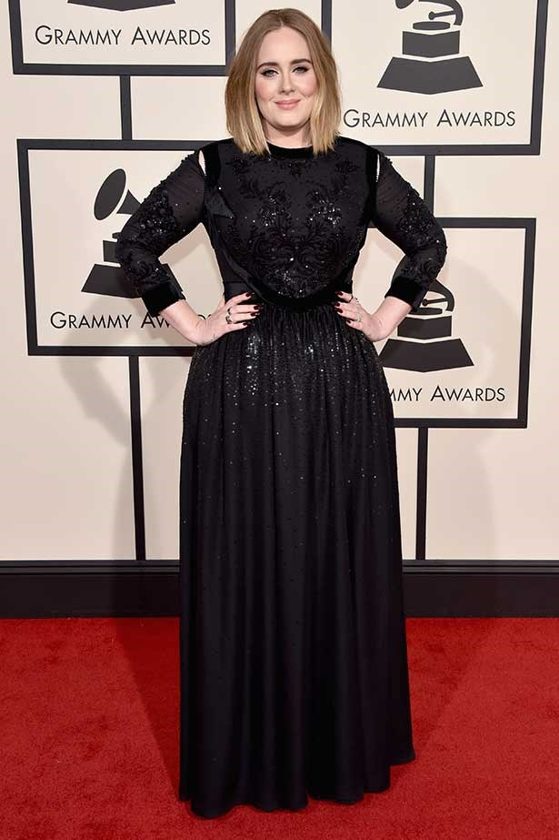 Recording artist Adele attends The 58th GRAMMY Awards at Staples Center on February 15, 2016 in Los Angeles, California.