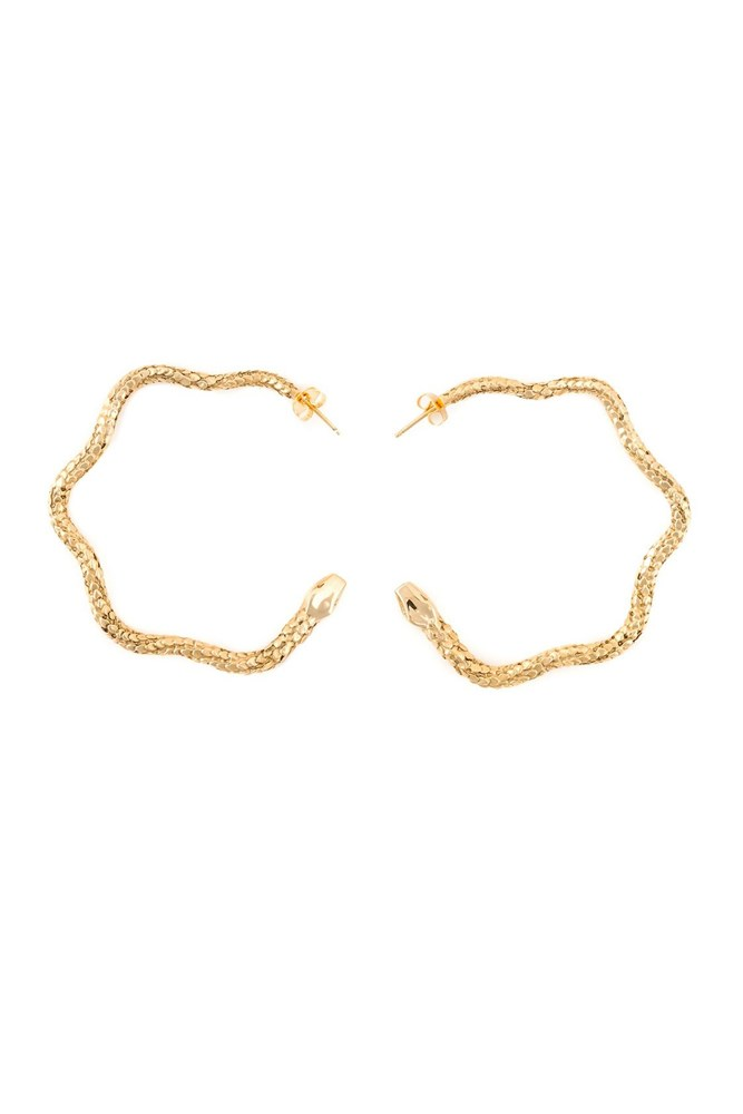 "<a href=""http://www.farfetch.com/au/shopping/women/aurelie-bidermann--tao-hoop-earrings-item-10958221.aspx"">Earrings, $353, Aurelie Biderman at farfetch.com</a>"