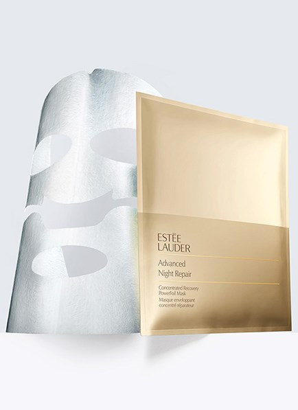 "The Victoria Beckham-approved sheet mask.<br><br> <strong>Advanced Night Repair Concentrated Recovery PowerFoil Mask, $120 for 4, <a href=""https://www.esteelauder.com.au/product/681/35783/Product-Catalog/Skincare/Advanced-Night-Repair/Concentrated-Recovery-PowerFoil-Mask"">Estée Lauder</a></strong>"
