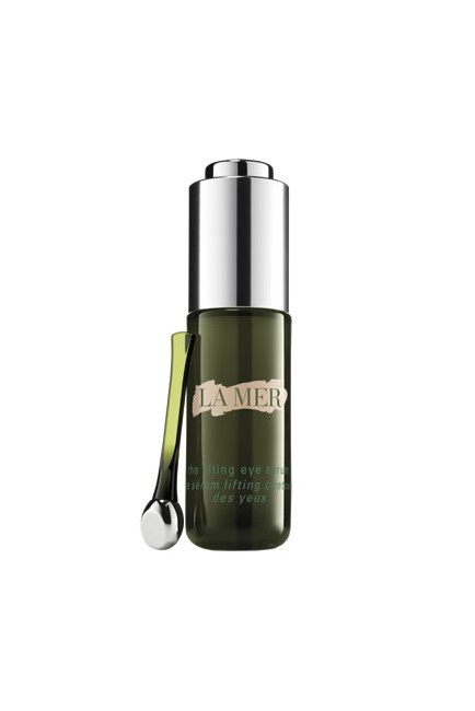 "The eye serum that conceals a late-night Netflix binge.<br><br> <strong>The Lifting Eye Serum, $330, <a href=""http://www.cremedelamer.com.au/product/9087/39441/Eye-Treatments/The-New-Lifting-Eye-Serum/Visibly-lifts-and-firms"">La Mer</a></strong>"