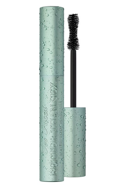 "The mascara that puts a stop to panda eyes.<br><br> <strong>Better Than Sex Waterproof, $34, <a href=""http://mecca.com.au/too-faced/better-than-sex-waterproof/I-023779.html"">Too Faced</a></strong>"