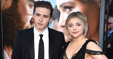 Chloe Grace Moretz Shares Loved Up Instagram With Brooklyn Beckham