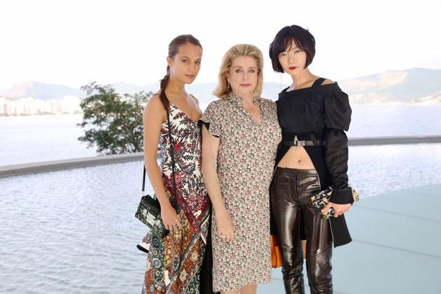 Alicia Vikander, Catherine Deneuve and Doona Bae.