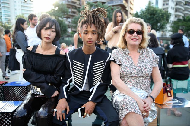 Doona Bae, Jaden Smith and Catherine Deneuve.
