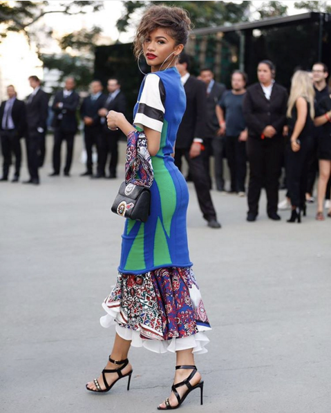 "<strong>As did Zendaya</strong> <br><br> Instagram: <a href=""https://www.instagram.com/p/BF9v5oYn3Or/"">@lookundertrends</a>"