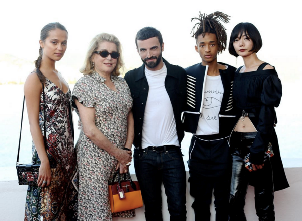 "<strong>Nicolas Ghesquière celebrated the show with his A-list guests</strong> <br><br> Instagram: <a href=""https://www.instagram.com/louisvuitton/"">@louisvuitton</a>"