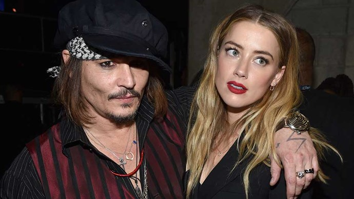 ctor Johnny Depp and actress Amber Heard attend The 58th GRAMMY Awards at Staples Center on February 15, 2016 in Los Angeles, California.