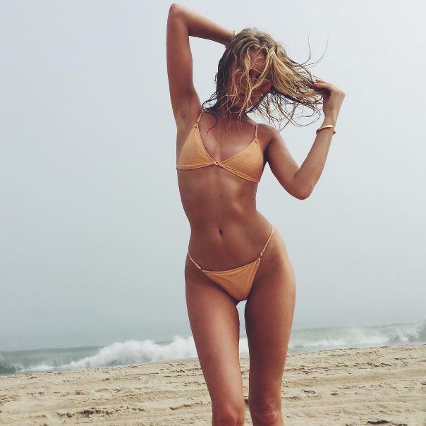 Elsa Hosk bikini.