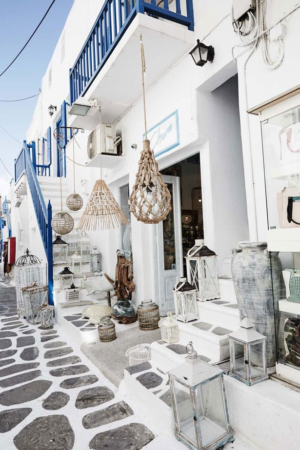 <p><strong>WHERE TO SHOP </strong> <p>Tucked into one of the many streets that overlook the Old Port of Mykonos City, Linea Piu is the place to snap up new-season Chanel. In fact, there's a whole room devoted to it, plus plenty of Blumarine, Tom Ford and Christopher Kane. Wind your way down towards the waterfront and you'll come across Mykonos Sandals – great for locally made footwear in classic Greek styles – and my favourite store in town, Salachas, which is packed with beautiful dresses, cotton muslin shirts and kids' clothing.</p>