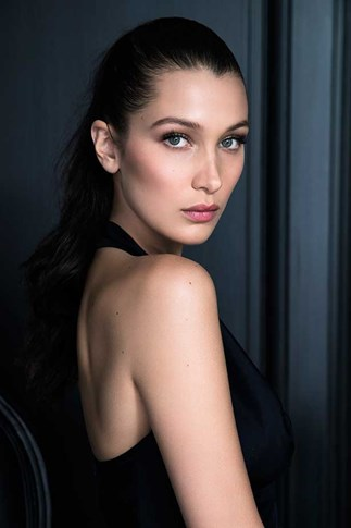 Bella Hadid for Dior make-up