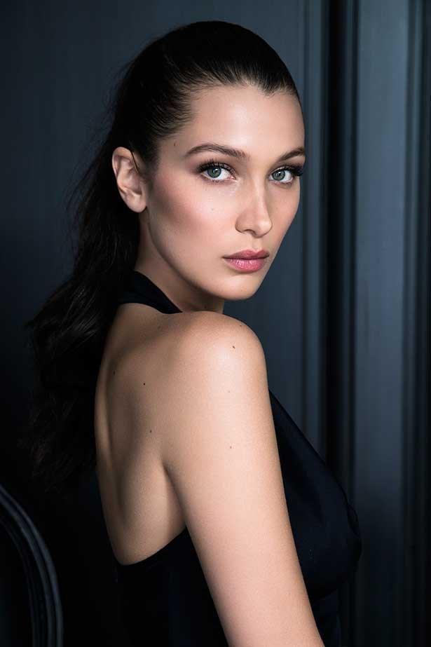 Bella Hadid for Dior make-up