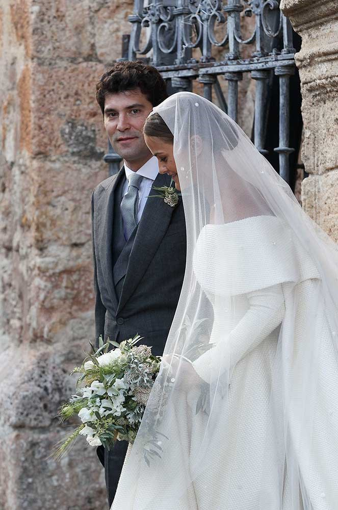 Lady Charlotte Wellesley marries Colombian-American financier and philanthropist Alejandro Santo Domingo in a lavish Spanish celebration