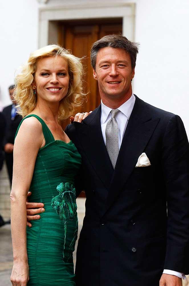 </p><p>Czech supermodel Eva Herzigova and partner Gregorio Marsiaj also attended.