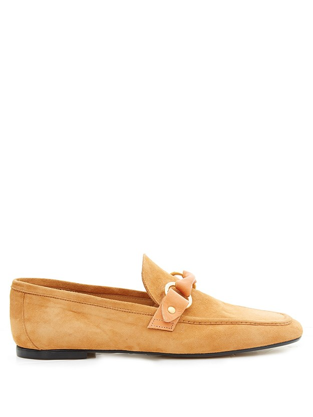 "<a href=""http://www.matchesfashion.com/products/Isabel-Marant-Farlow-suede-loafers-1037609"">Isabel Marant loafers, $479, matchesfashion.com</a>"