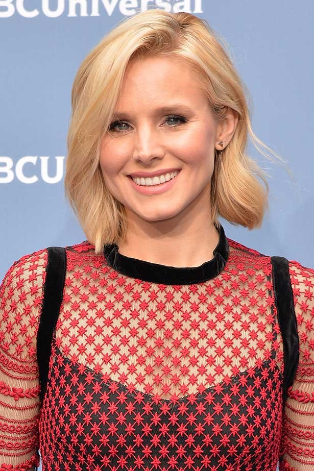 Actress Kristen Bell attends the NBCUniversal 2016 Upfront Presentation on May 16, 2016 in New York