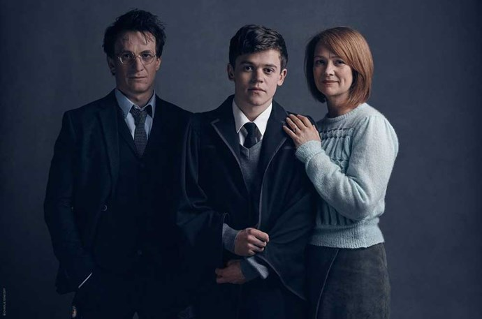 </P><p>In the days preceding the new character reveals, we were introduced to the extended Potter family: Harry's wife and Ron's sister, Ginny, will be played by <em>Macbeth</em> and <em>Twelfth Night </em>actress Poppy Miller, while his son, Albus, will be played by Sam Clemmett, who's also appeared in productions of <em>Lord of the Flies</em> and <em>Wendy and Peter Pan</em>.