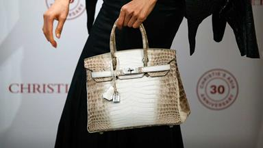 Record-Setting Birkin Bag Sells For More Than $400,000 At Auction