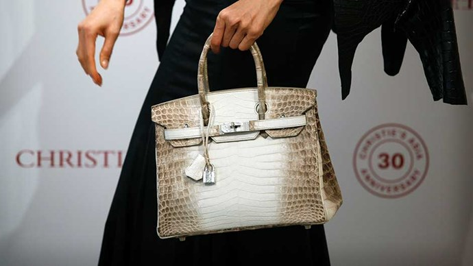 A Nilo Himalayan Birkin Bag sold for more than $400,000 at auction in Hong Kong