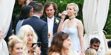 The Jennifer Lawrence Guide To Attending A Wedding