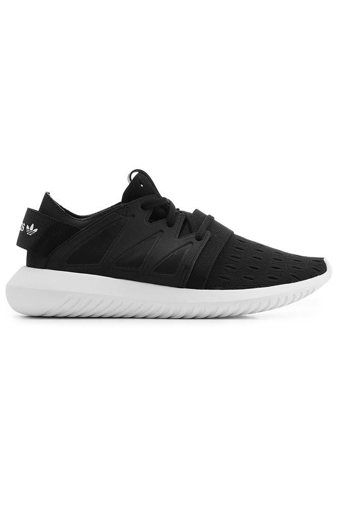 "<strong>Black-on-black</strong><br><br> <a href=""http://www.stylebop.com/au/product_details.php?id=672301"">Sneakers, $159, Adidas Originals</a>"