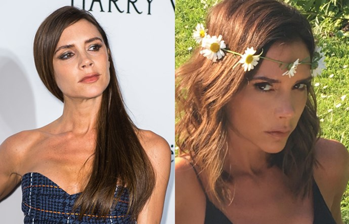 <p> <strong>Victoria Beckham</strong></p> <p>She's been rocking the long hair for a while now, but Victoria Beckham just made the switch back to her lob-ier days with this short cut.</p>