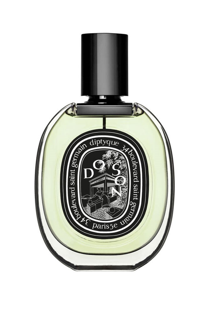 """""""I've worn this every day for about three years now because tuberose is my favourite smell in the world."""" – Claudia Jukic, market editor <br><br> <a href=""""http://mecca.com.au/diptyque/do-son-edp/I-023384.html?cgpath=brands-diptyq#start=1"""">Do Son EDP, $208 for 75ml, Diptyque</a>"""