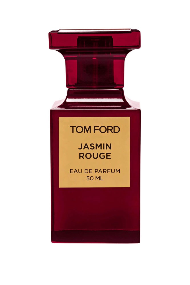 """""""I love scents that are unique—I don't want someone to be able to recognise what I'm wearing when I meet them. This one isn't too girly (just like me) and lasts on the skin the whole day."""" – Carly Roberts, creative director<br><br> <a href=""""http://shop.davidjones.com.au/djs/ProductDisplay?catalogId=10051&productId=12043&langId=-1&storeId=10051"""">Jasmin Rouge EDP, $298 for 50ml, Tom Ford</a>"""