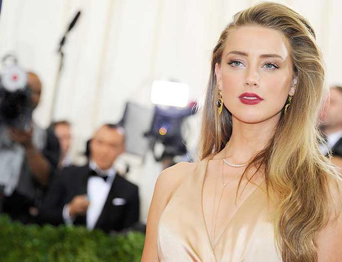 Amber Heard attends 'Manus x Machina: Fashion In An Age Of Technology' Costume Institute Gala