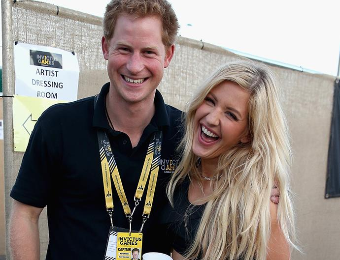 Prince Harry and Ellie Goulding.