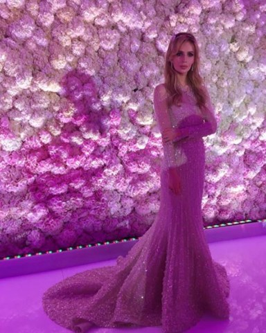 Inside A Russian Billionaire Heir's $2 Million Wedding