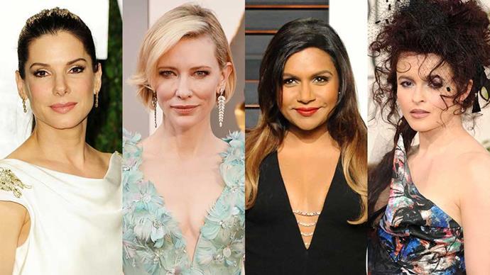 Sandra Bullock, Cate Blanchett, Mindy Kaling and Helena Bonham Carter