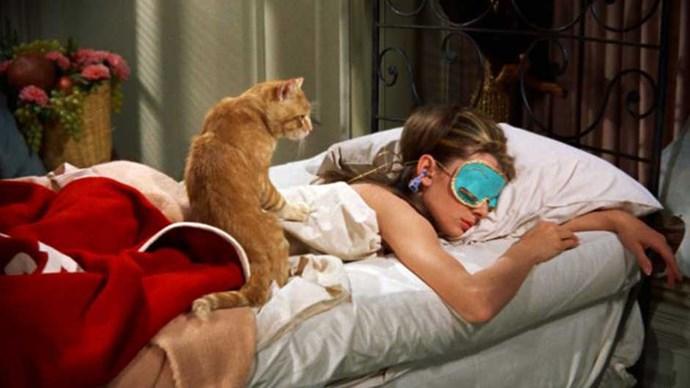 Audrey Hepburn as Holly Golightly in Breakfast at Tiffany's