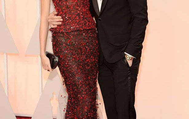 Singer Adam Levine and model Behati Prinsloo attend the 87th Annual Academy Awards at Hollywood & Highland Center on February 22, 2015 in Hollywood, California