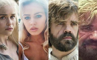 See All the Game Of Thrones Stars With Their Stunt and Body Doubles