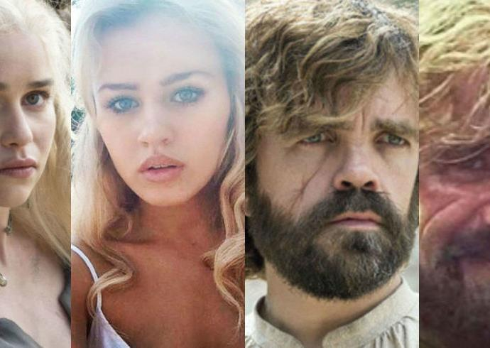 Game of Thrones body doubles.