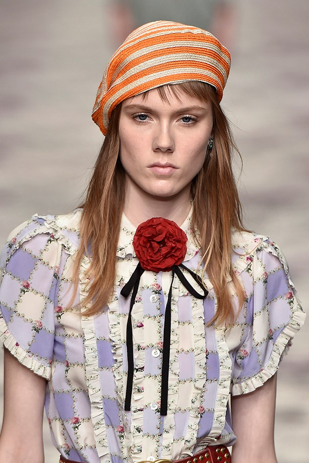 <p>ARIES<p> <p> SS16's Gucci girl is the ultimate Aries muse.<p> <p> The drama of this short fringe sits perfectly with your adventurous, impulsive and independent nature. You're drawn to comfort too and want a cut that doesn't take too long to style. Opt for a lob and leave to air dry.
