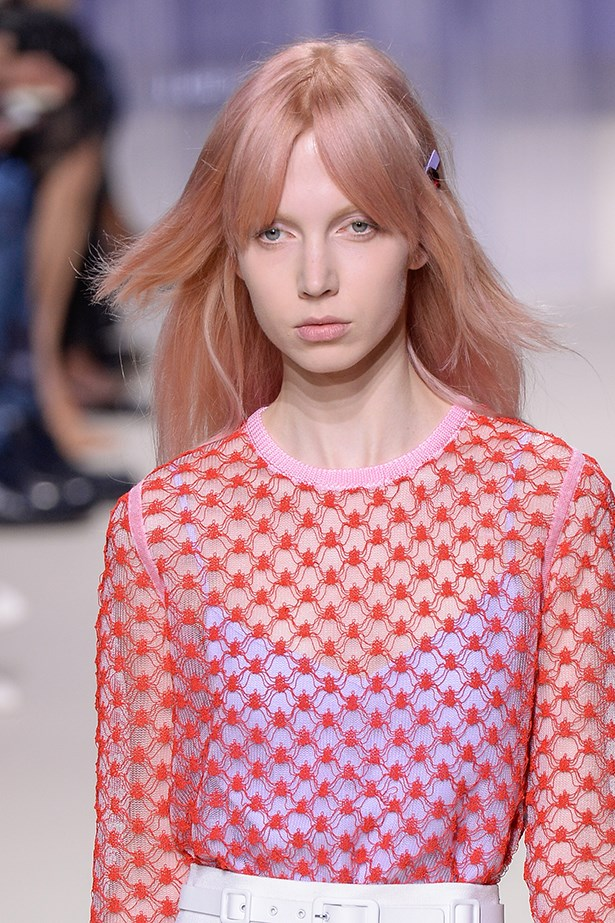 <P>GEMINI<p> <p> You're spontaneous and adaptable in equal measure – and that means you can pull off more daring styles with aplomb.<p> <p> Step out of your comfort zone and give the pastel pink and rose gold hues seen at Louis Vuitton and Carven a try.<p> <p> Your colourist will be able to advise on the perfect shade for your skin tone.