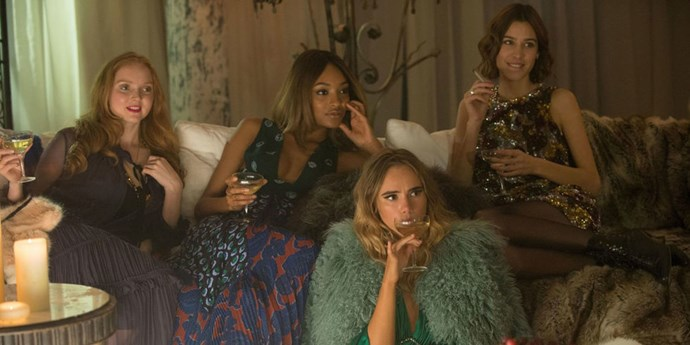 Lily Cole Jourdan Dunn Suki Waterhouse Alexa Chung