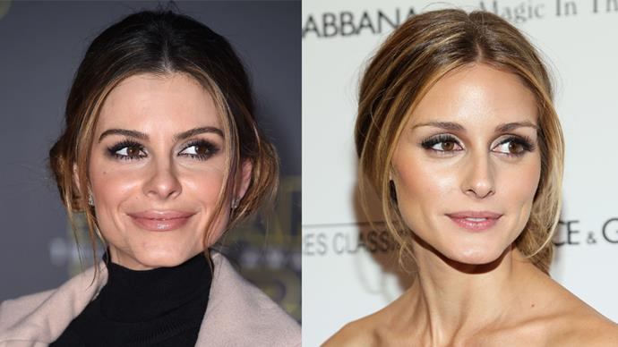Maria Menounos and Olivia Palermo.