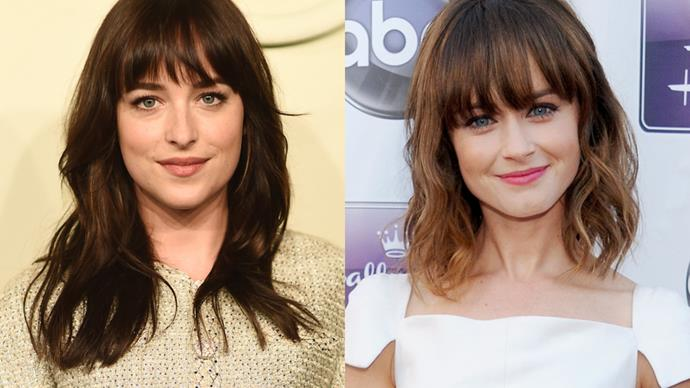 Dakota Johnson and Alexis Bledel.