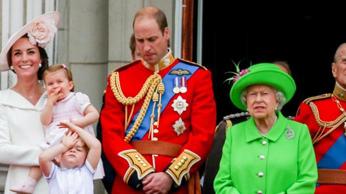 queen scolding prince william