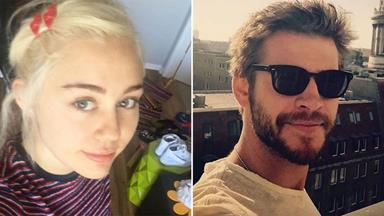 Miley Cyrus Publicly Declares Her Love For Liam Hemsworth Via T-Shirt
