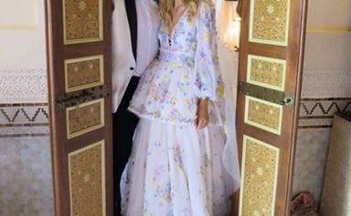 Beautifully Unconventional Celebrity Wedding Dresses